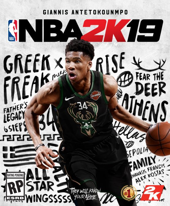 NBA 2k19 Gets Giannis Antetokounmpo First International
