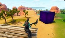 fortnite cube moving