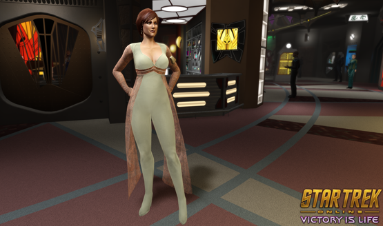 Star Trek Online Victory is Life giveaway Leeta Bridge Officer