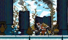 kratos in shovel knight