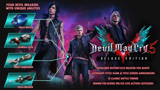 devil may cry 5 deluxe edition details