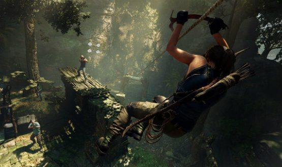 unused shadow of the tomb raider ending