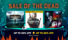 PlayStation Store Sale of the dead video game deals