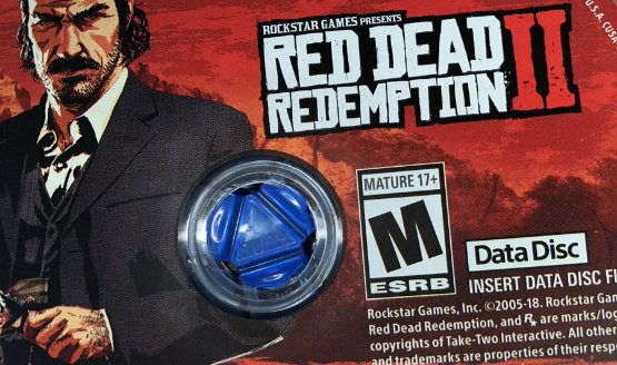 red dead redemption 2 discs