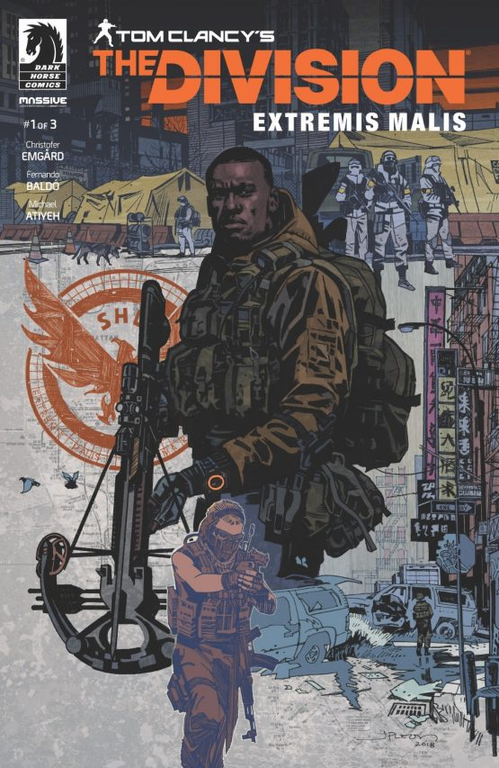 Get Your First Look at The Division Comic Book