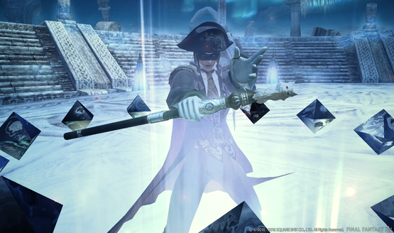 Take a Closer Look at Final Fantasy XIV's Blue Mage