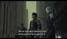games like Metal Gear Solid 2