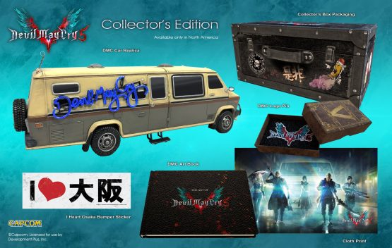 devil may cry 5 collectors edition set