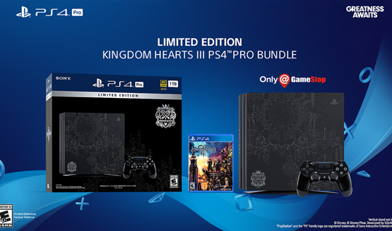 Limited edition Kingdom Hearts 3 PS4 Pro Bundle canceled cancellation preorder