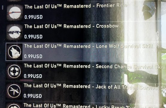 Microtransactions in The Last of Us Part II Multiplayer