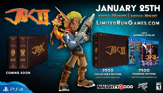 Limited Run Games Launches Jak II Collector's Edition This Week