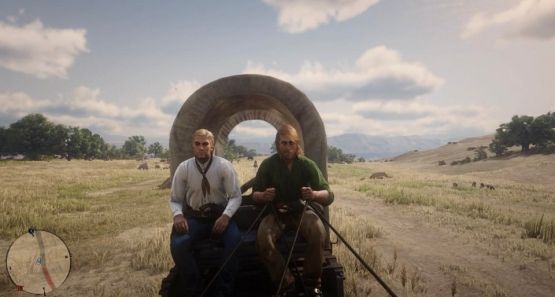 Fred and Shaggy Red Dead Online