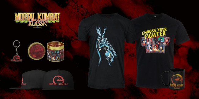 Mortal Kombat Klassic merch from Numskull