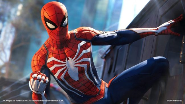 Spider Man PS4 Update
