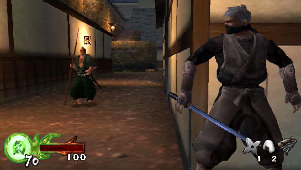 The Playstation Classics Tenchu Wrath Of Heaven