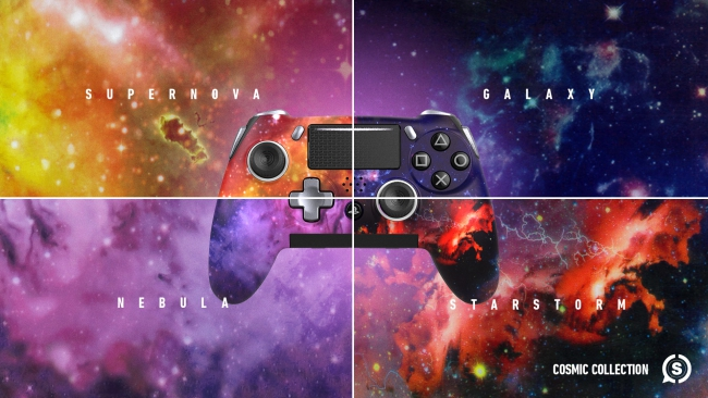 scuf vantage cosmic controllers