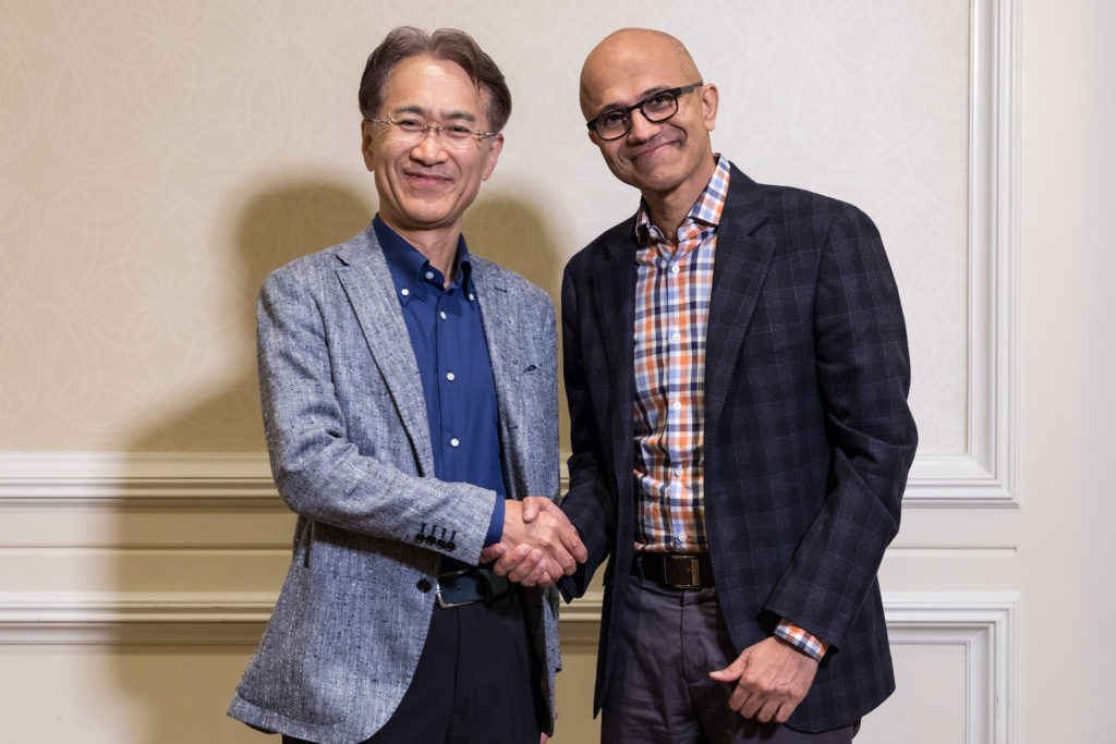 Sony Microsoft Partnership Announced for Cloud Gaming Services