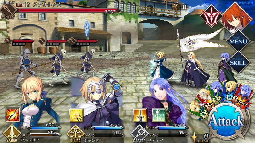 ps4 mobile game ports fate grand order