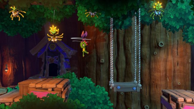 Yooka laylee and the impossible lair E3 2019