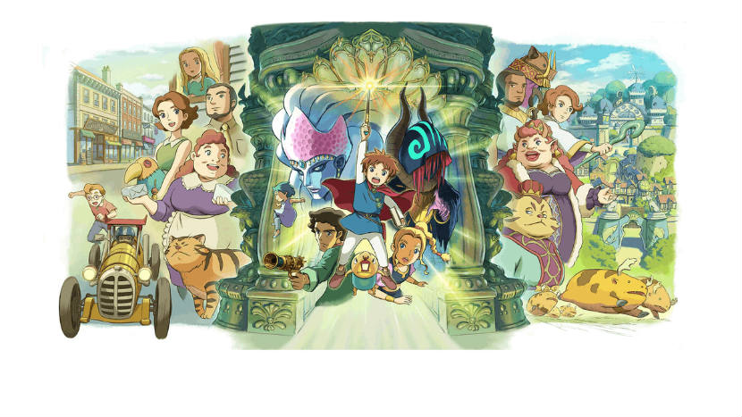 Ni no Kuni Wrath of the White Witch Remastered Leak Discovered