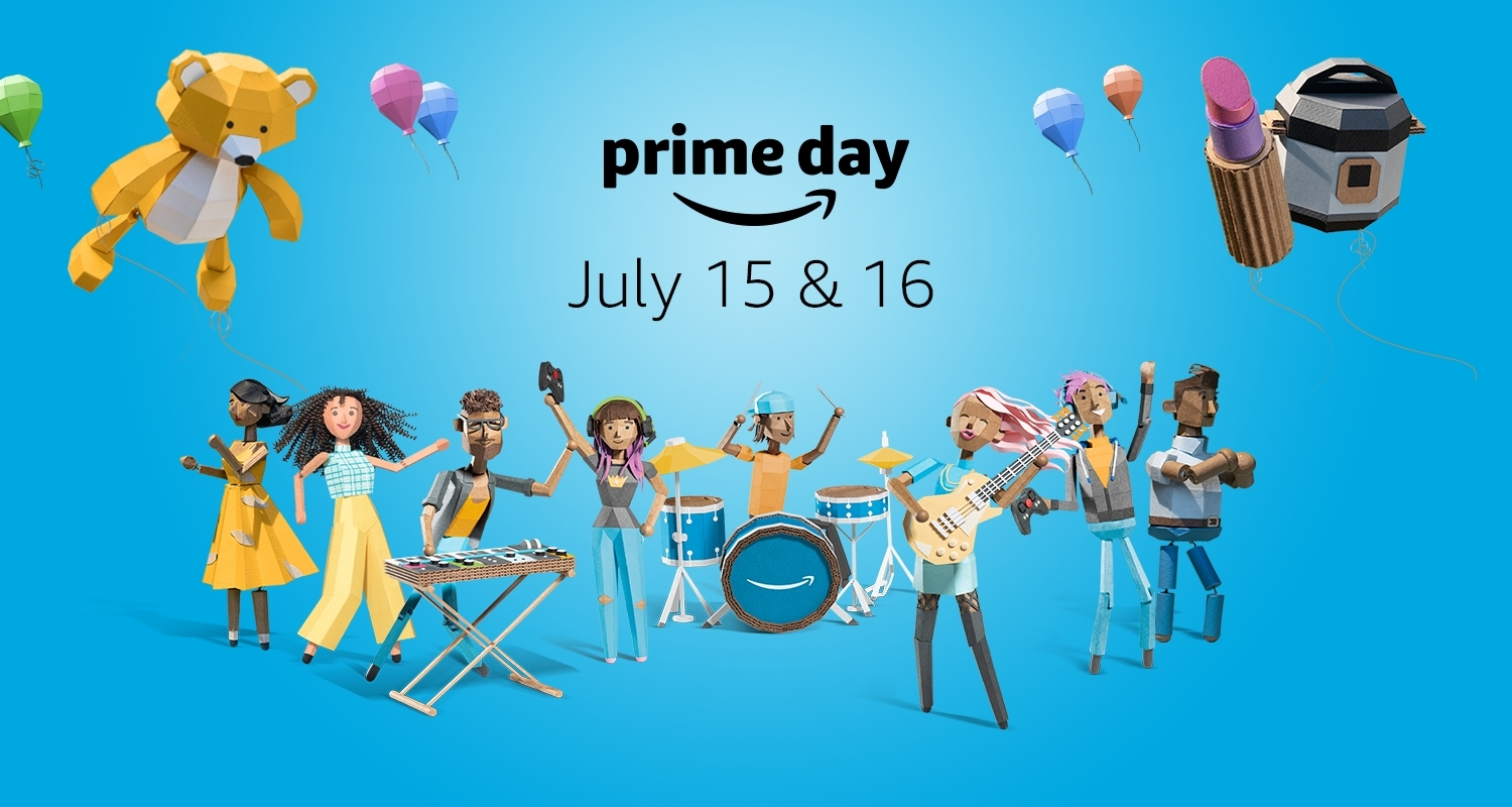 Daily Reaction prime day affiliate links video game deals