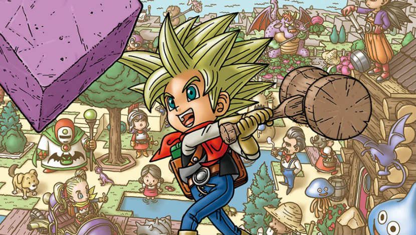 Dragon Quest Builders 2 Review title