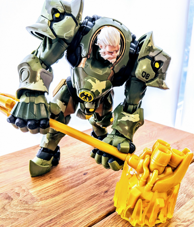 Overwatch figures Reinhardt bundeswehr sdcc 2019 exclusive 1
