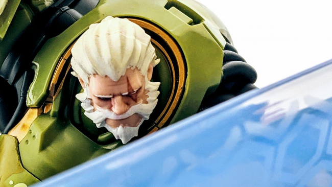 Overwatch figures reinhardt SDCC 2019 exclusive bundeswehr