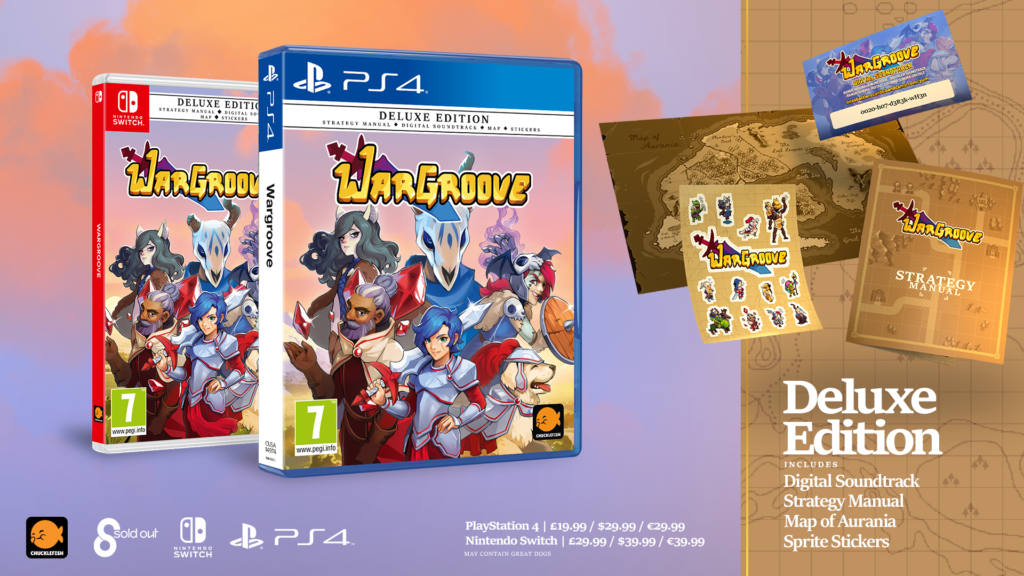 Wargroove physical
