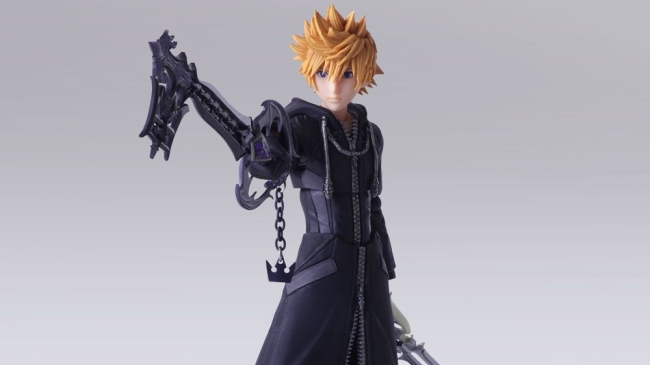 Square Enix's Bring Arts Roxas Figure for Kingdom Hearts III Puts the Action in Action Figure