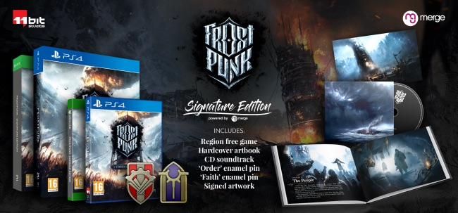 Preorders Are Live for Frostpunk's Signature Edition on PS4 and Xbox One