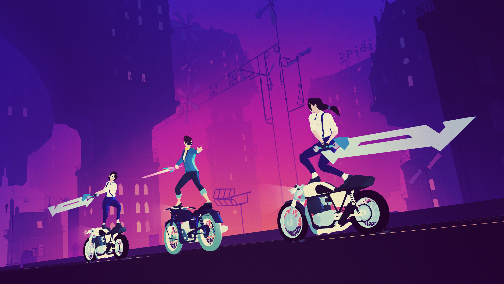 Sayonara Wild Hearts Review ps4