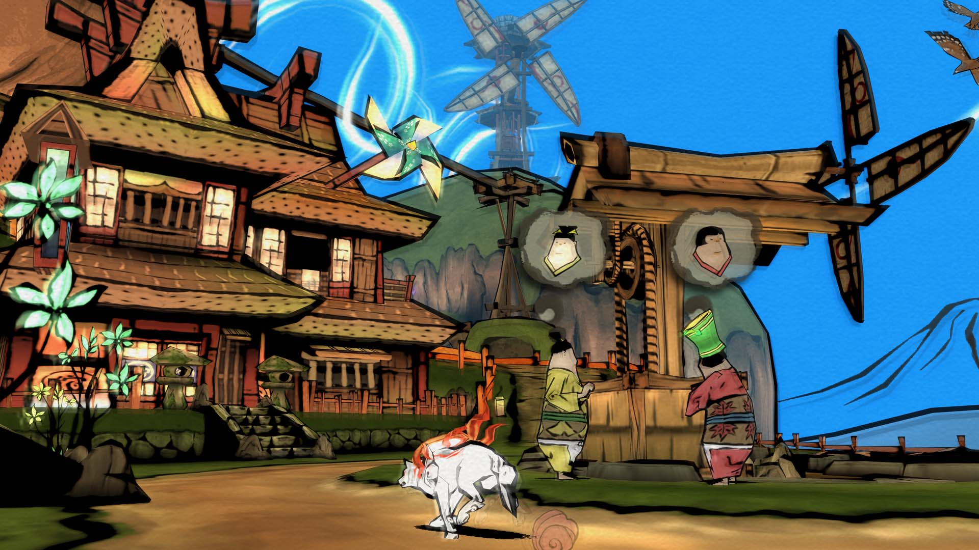 Development of 'Okami' sequel desired by both Hideki Kamiya and Ikumi Nakamura