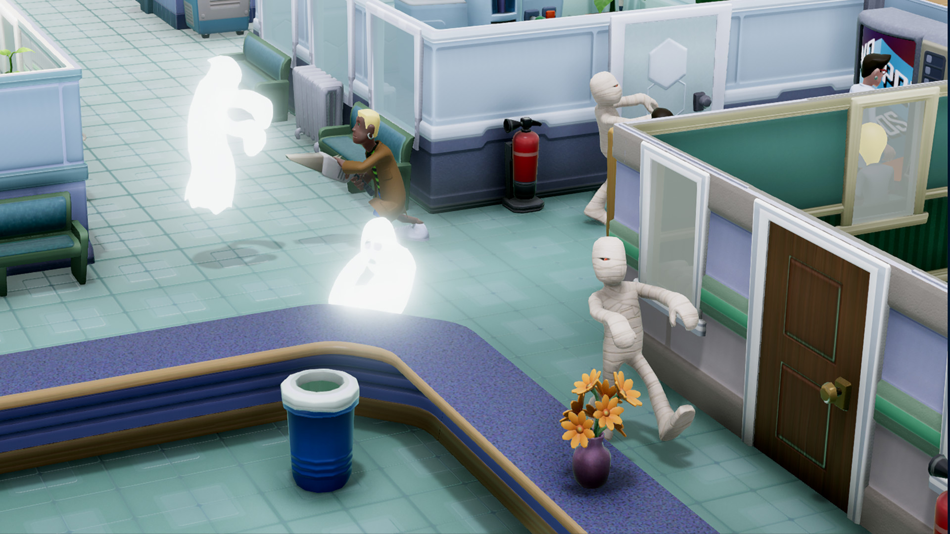Two Point Hospital delayed