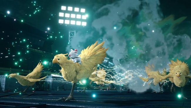 Final Fantasy VII remake chocobo and moogle summon
