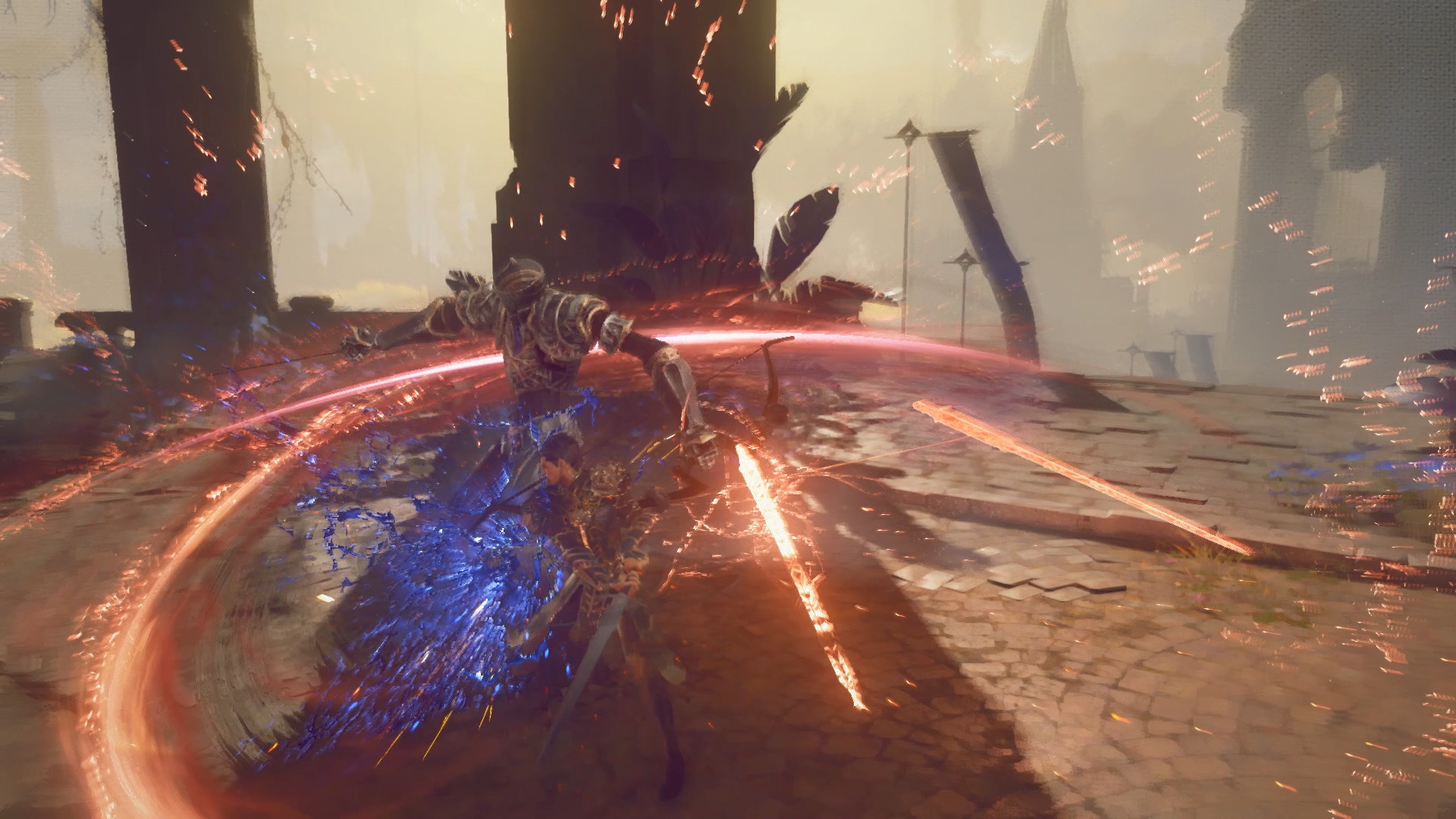 PlatinumGames' Babylon's Fall Gameplay Shown, More to Be Revealed Next Summer