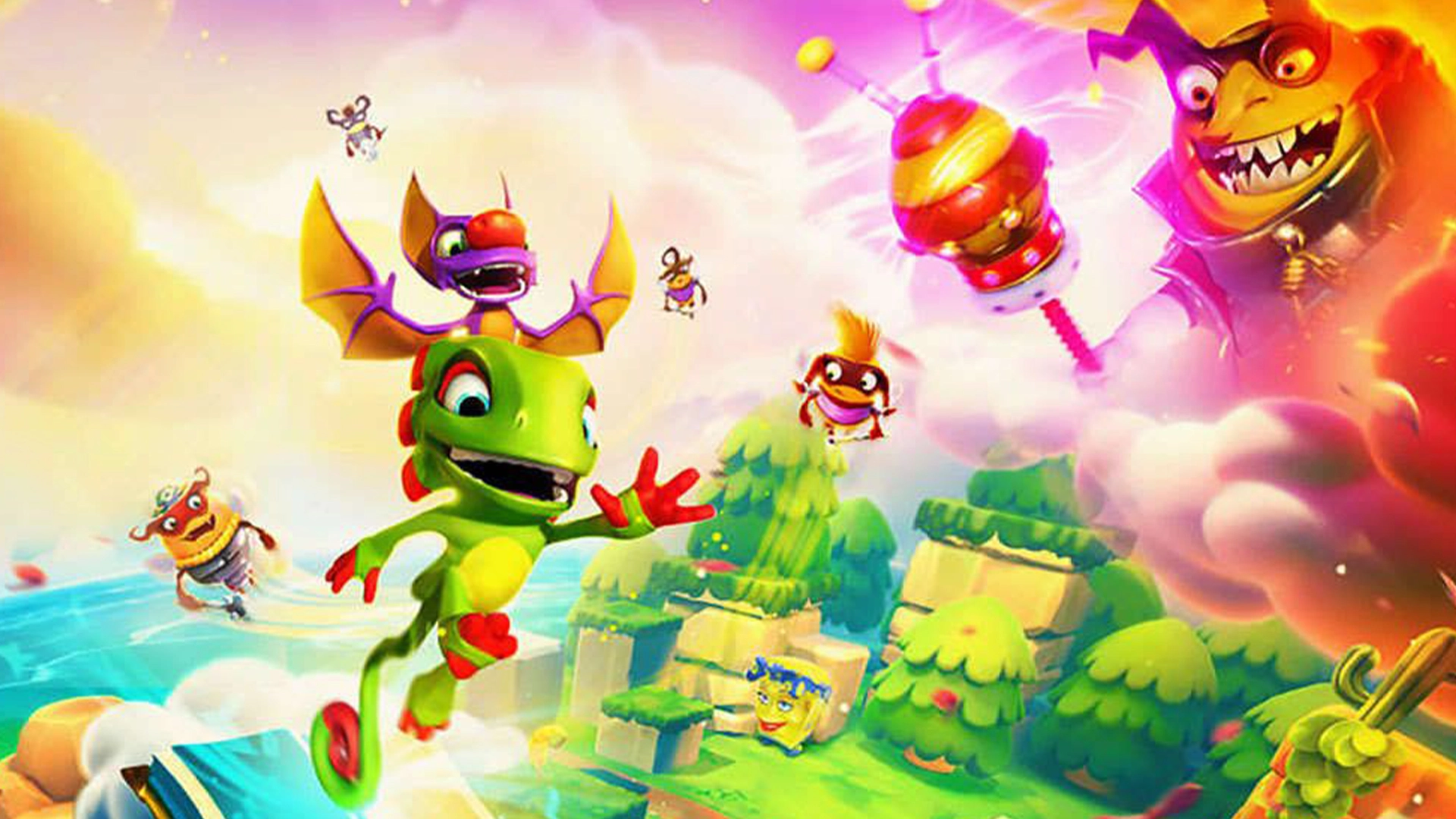 Yooka laylee and the impossible lair demo