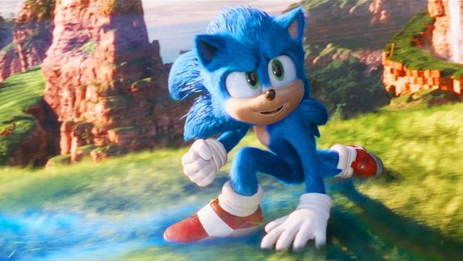 sonic movie song