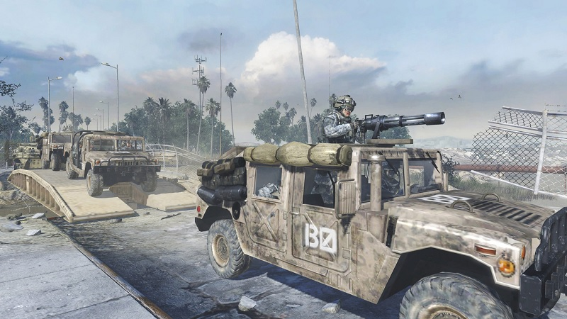 call of duty humvees