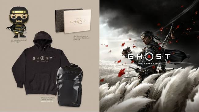ghost of tsushima official merchandise