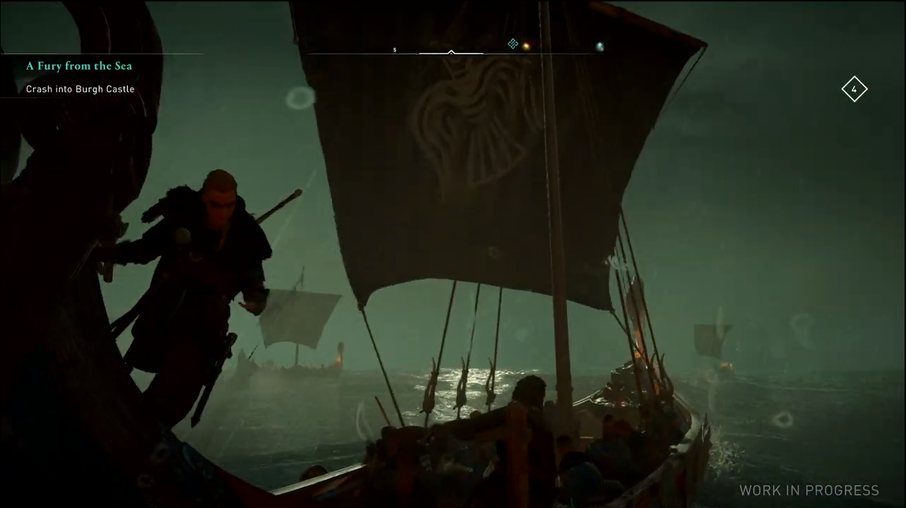 Assassin S Creed Valhalla Gameplay Leaks Showing Viking Longboat Raid
