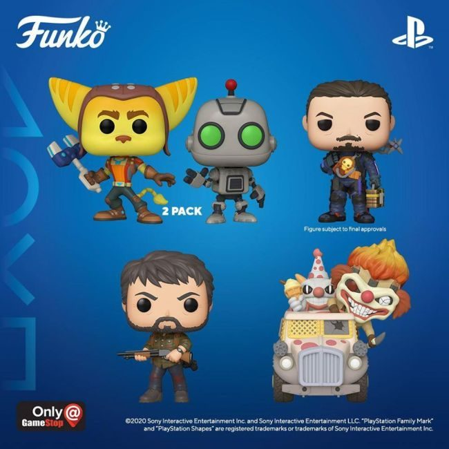 New Line of PlayStation Funko Pops Announced, All Exclusive to GameStop