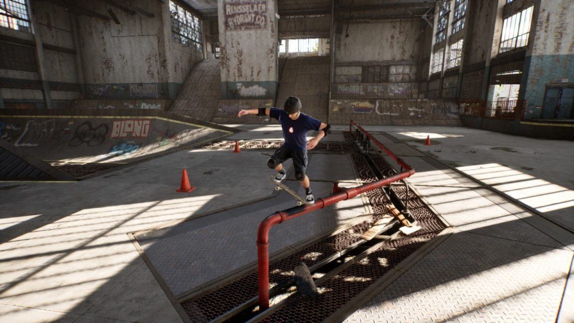 Tony Hawk S Pro Skater 1 And 2 Warehouse Demo Hands On Superman Returns