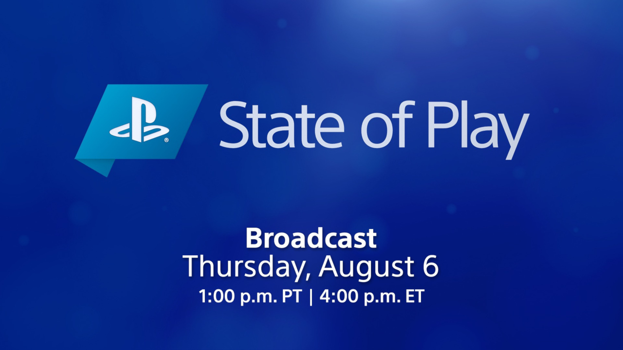 Playstation state of play watch here august 6