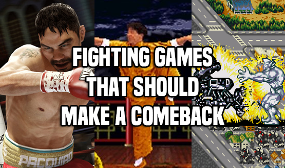 Fighting Games That Should Make a Return