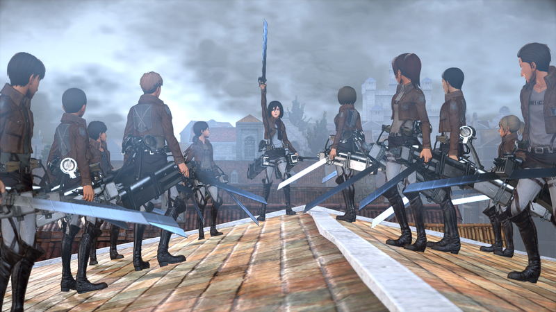 Koei Tecmo announced the Attack on Titan game last August.