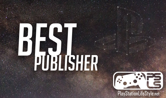 Best Publisher Nominees - Game of the Year Awards 2018