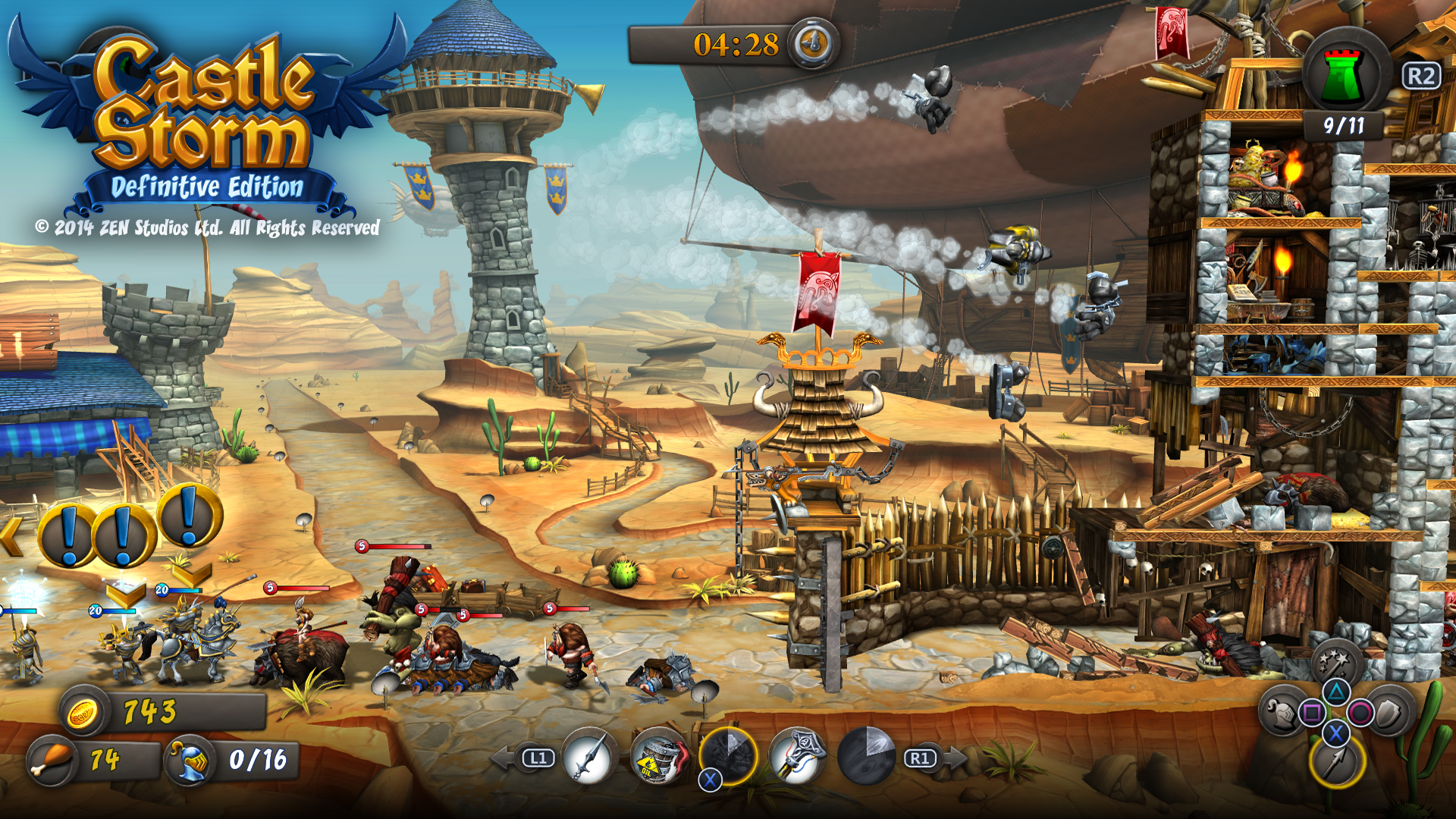 CastleStorm: Definitive Edition Review ? Higher-Def Smashing! (PS4)