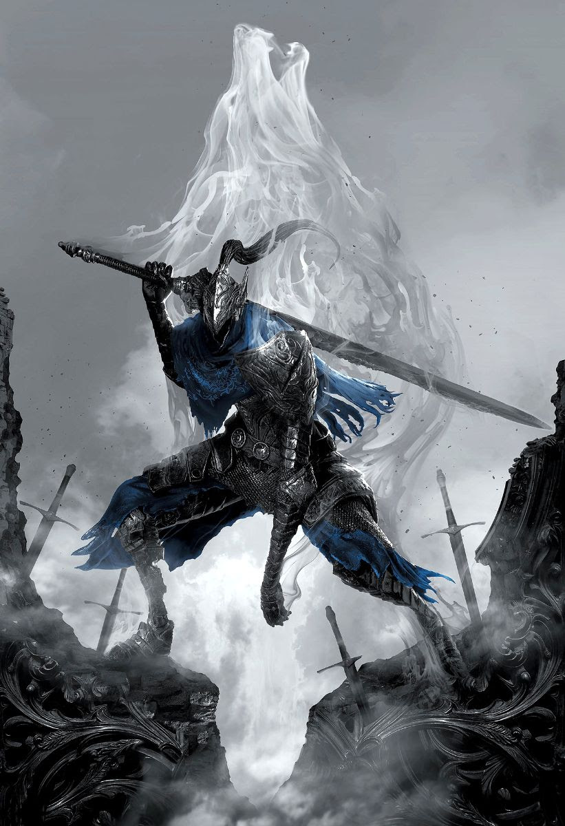 Bring Home Dark Souls' Knight Artorias With a Beautiful Art Print from Cook and Becker
