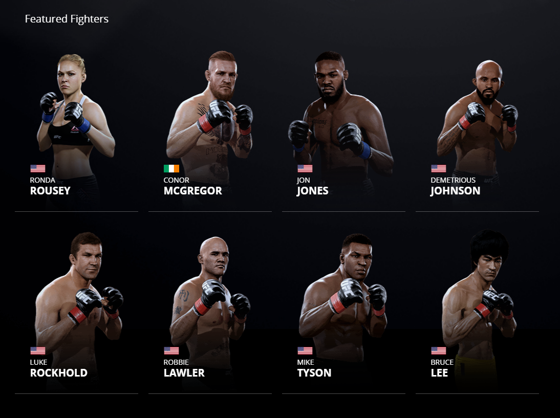 Featured Fighters